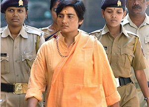 Sadhwi Pradnya Thakur. Photo courtesy: http://www.outlookindia.com/
