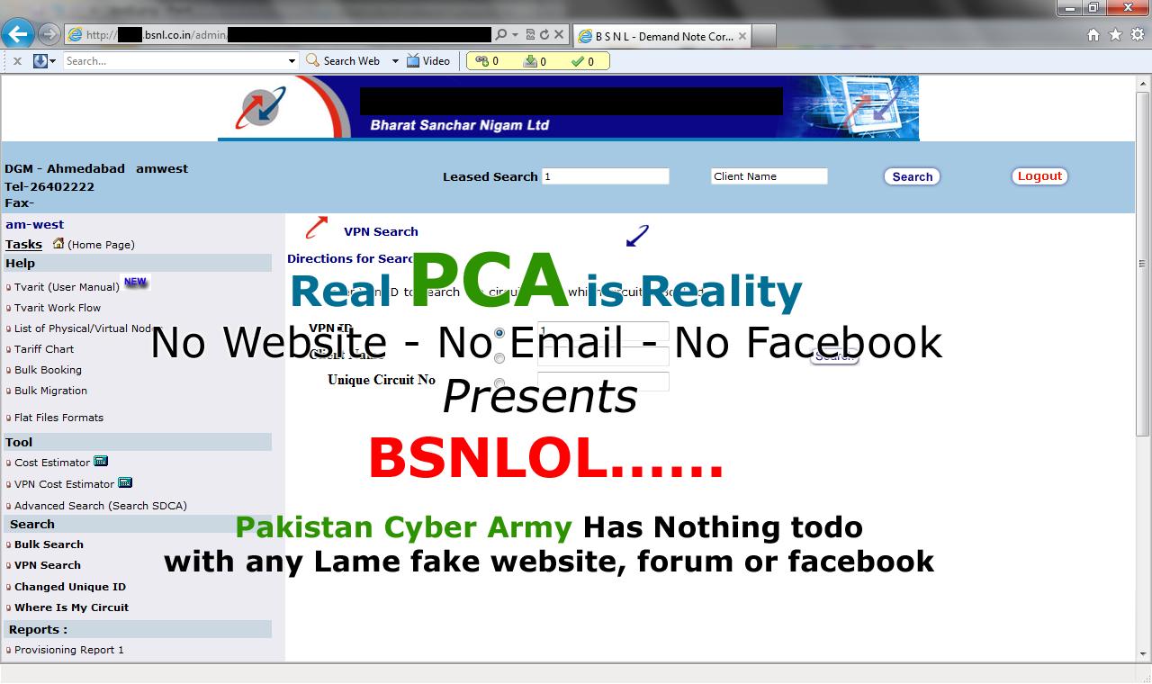 Pak hackers break into BSNL website - Times of India