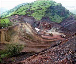 Mining in Bellary