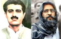 From Left: Maqbool Bhat,Afzal Guru.