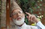 Kashmiri seperatist leader Syed Ali Shah