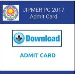 JIPMER-PG-Admit-Card-2017